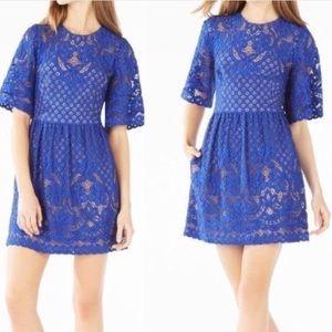 BCBG Jillyan Floral Lace Dress